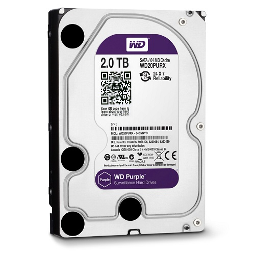 Ổ cứng Western Purple 2TB 20PURZ