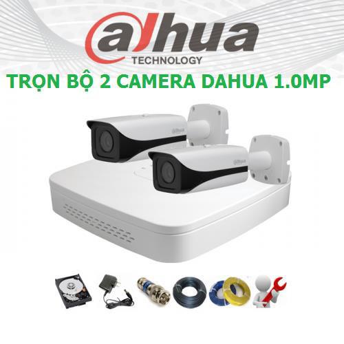 Trọn bộ 2 Camera Dahua HD