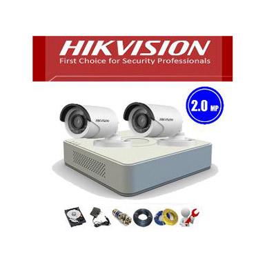 Trọn bộ 2 Camera Hikvision Full HD