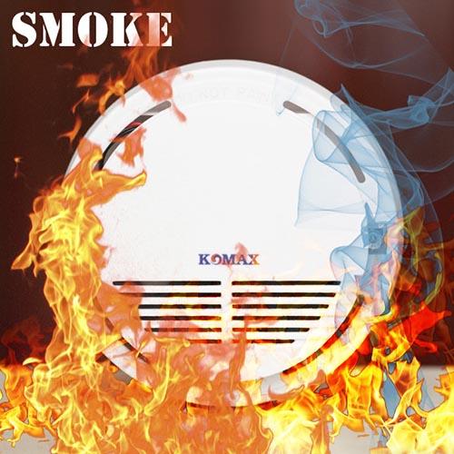 Đầu dò báo khói độc lập Komax KM-S01 (Phát ra âm báo tại chỗ)