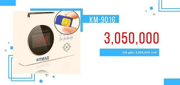 báo trộm dùng sim di động Km-901g