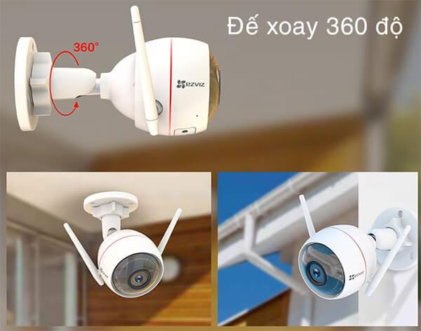 Camera Wifi Ezviz C3W CS-CV310 với khớp xoay 360 độ