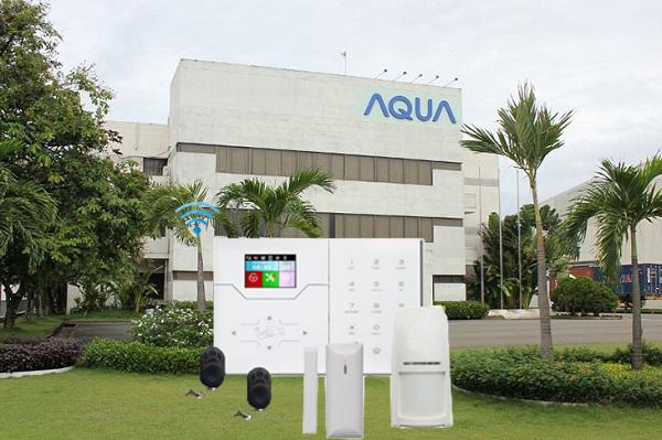 Lắp đặt hệ thống báo trộm tại công ty Aqua Việt Nam