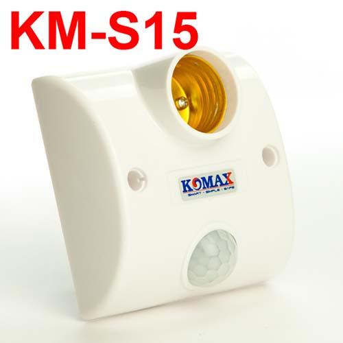 Đui đèn cảm ứng hồng ngoại KM-S15