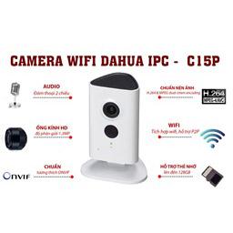 IPC C15P Camera Wifi đàm thoại 2 chiều
