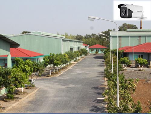 lắp camera quan sát tại chi nhánh công ty cổ phần môi trường Thiên Thanh Vĩnh Cửu