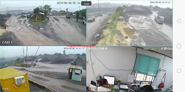lắp camera tại mỏ đá Biên Hòa