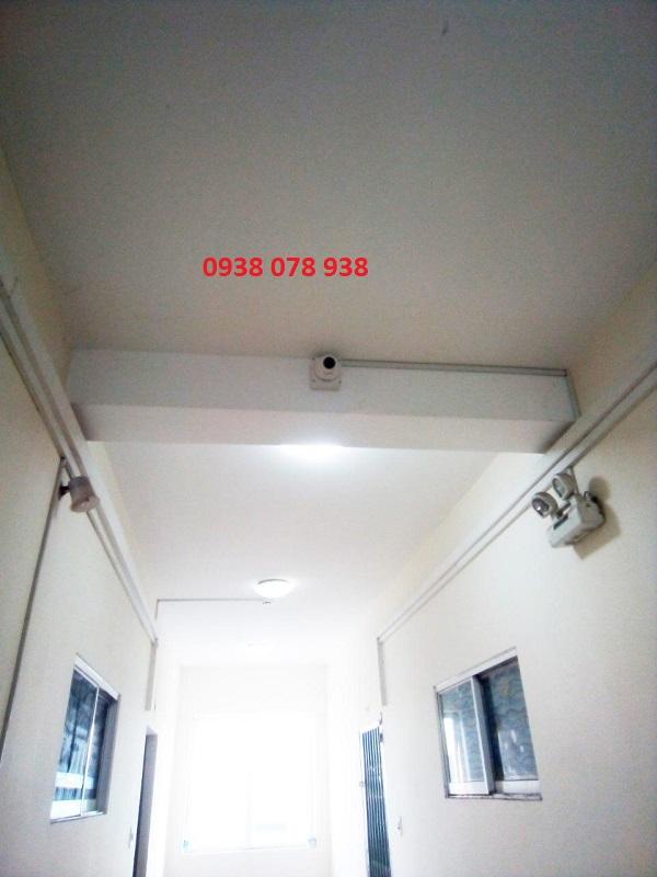 lắp đặt camera quan sát ở hành lang chung cư