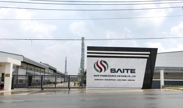 Lắp đặt máy chấm công tại nhà máy công ty saite power source việt nam