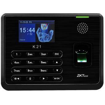 máy chấm công vân tay thẻ từ ZKTeco K21