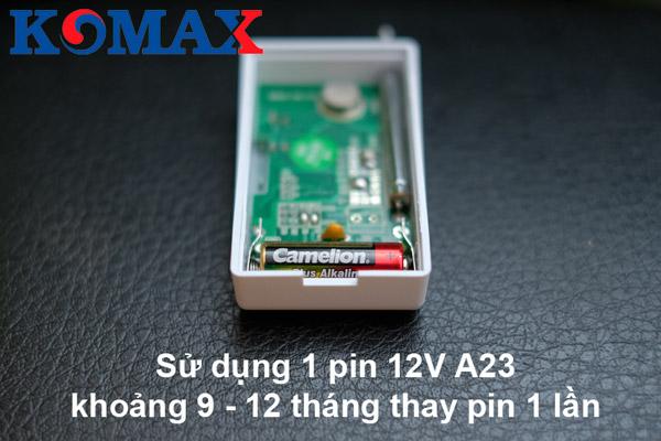 pin dùng cho từ gắn cửa cao cấp KM-D21A