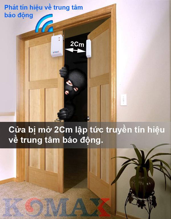nguyên tắc hoạt động của từ gắn cửa cao cấp KM-D21A